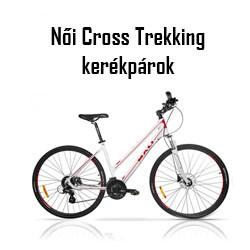Női Cross trekking kerékpár
