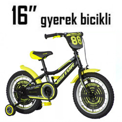 Gyerek bicikli - 16 Coll (5-7 éves) (110-120cm)