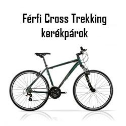 Férfi Cross Trekking kerékpár