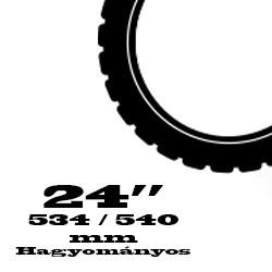24 coll Hagyományos - 534 / 540 mm