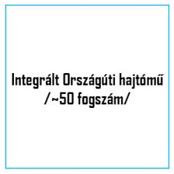 Integrált Országúti hajtómű /~50 fogszám/