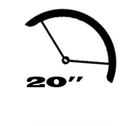 "20"" (ETRTO: 406mm gumimérethez)"