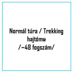 Normál túra / Trekking hajtómű /~ 48 fogszám/