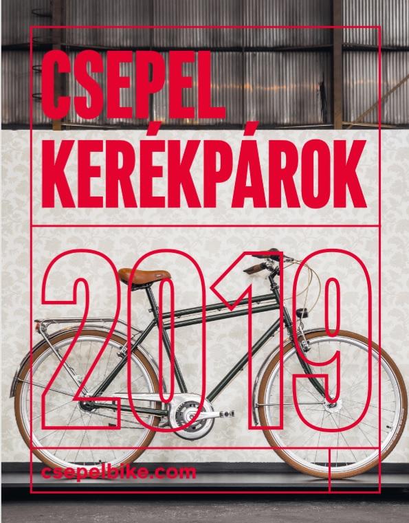 Csepel kerékpár katalógus 2019