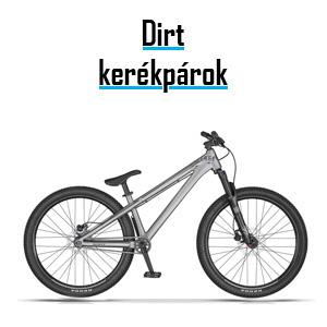 dirt / extrém kerékpárok