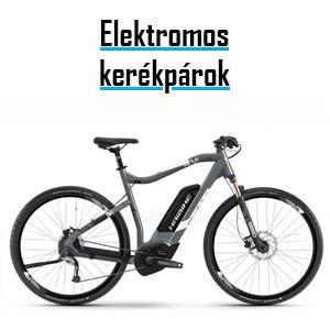 e-bike, pedelec: elektromos kerékpárok