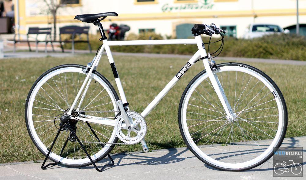 Csepel Torpedo vázra épített egyedi városi kerékpár - 14sp
