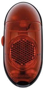 Hátsó lámpa - elemes - Axa - retro - piros - sárvédőre - on/off