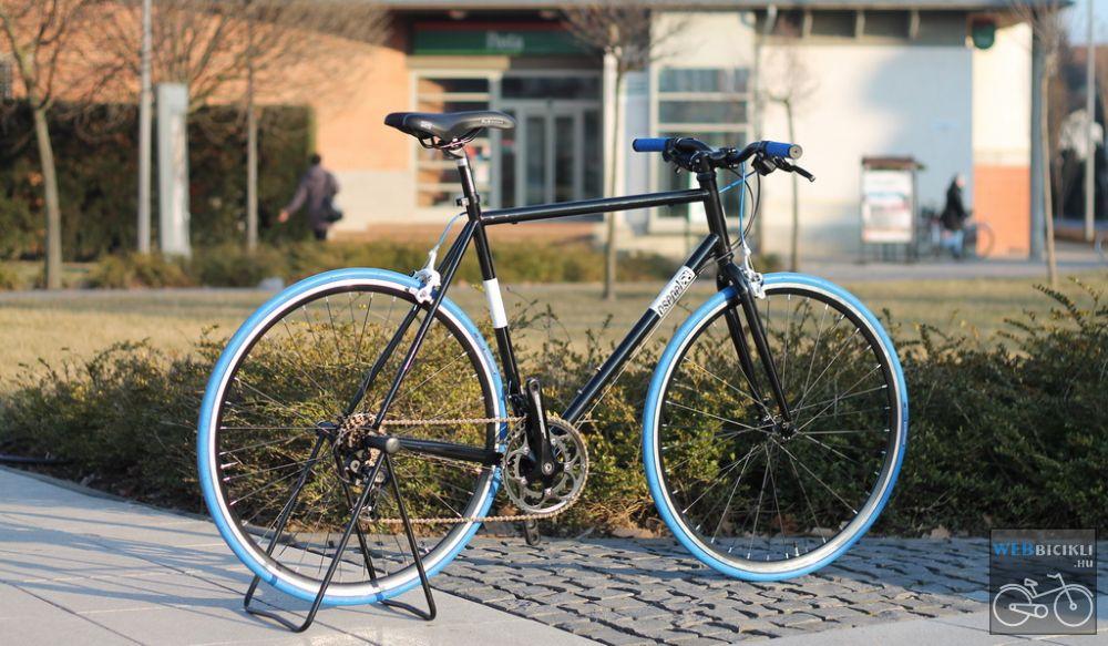 Csepel Torpedo vázra épített egyedi kerékpár - 14sp