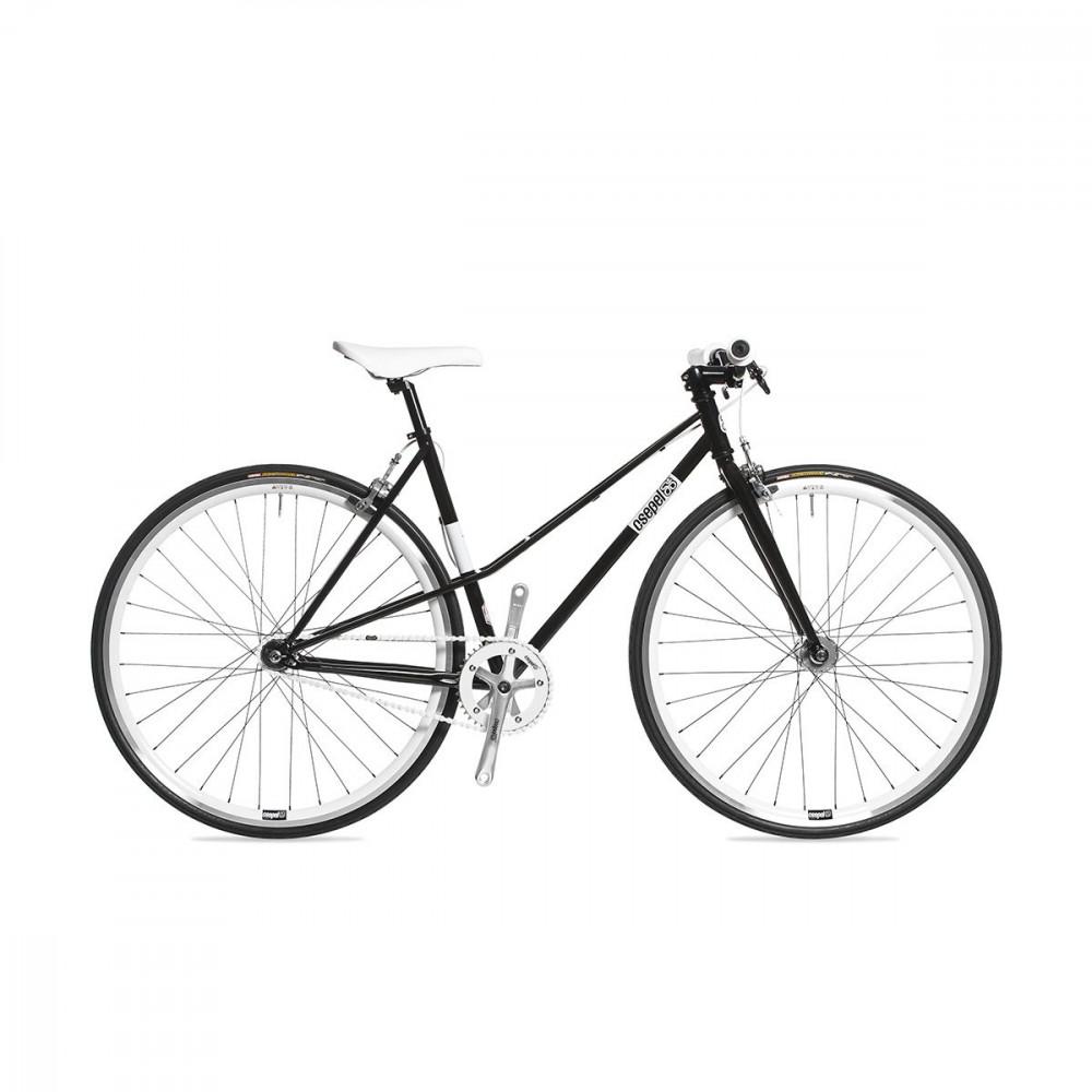 Csepel Royal 3* Lady - Fixi kerékpár - Fekete - 510