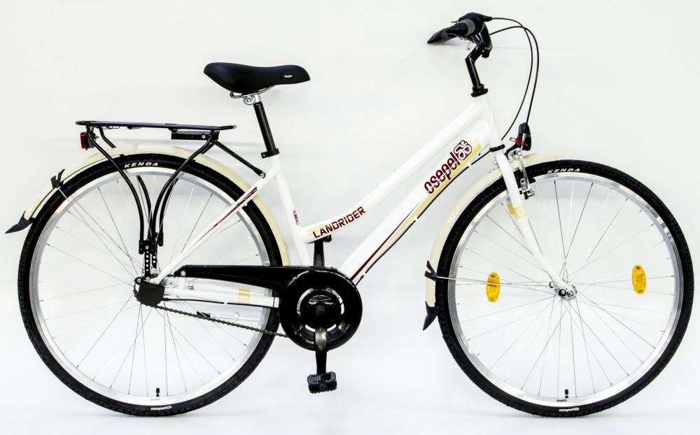 """Csepel Landrider - Női kerékpár - 3 sebességes agyváltó - Fehér - 19"""""""