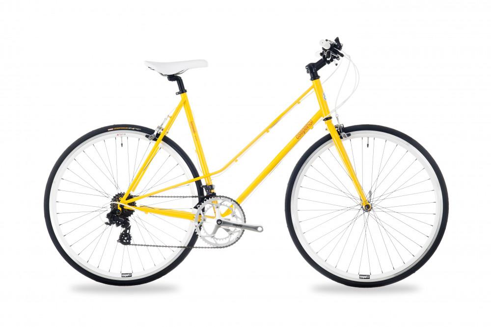 Csepel Torpedo - női fitness kerékpár - Sárga - 570